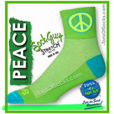 SockGuy Green Peace Performance Socks