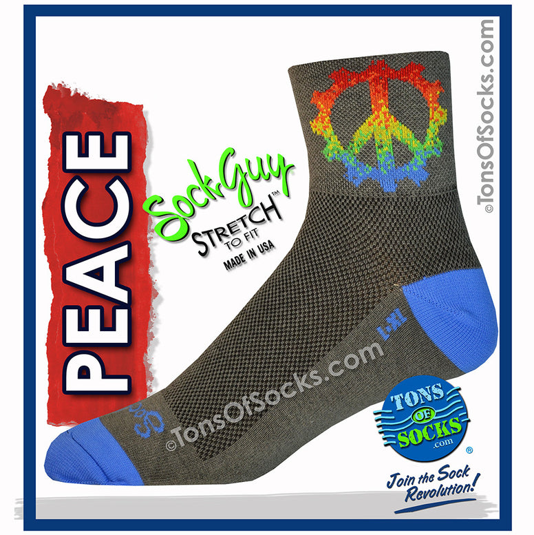 SockGuy Peace Ring Performance Socks