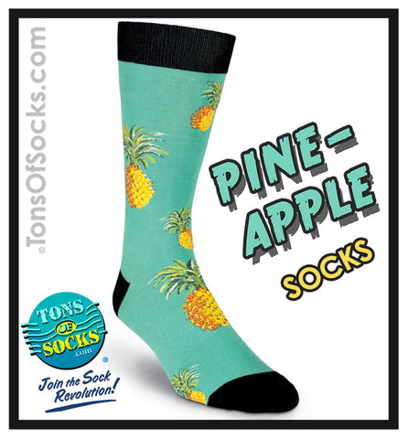 Men's Pineapple Socks (NEW)