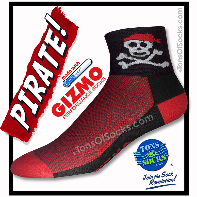 Gizmo CoolMax® Pirate Performance Socks