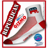 Gizmo CoolMax® Republican Elephan Performance Socks