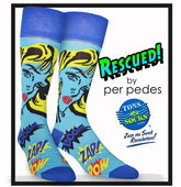 "Men's Designer ""RESCUED"" Socks"