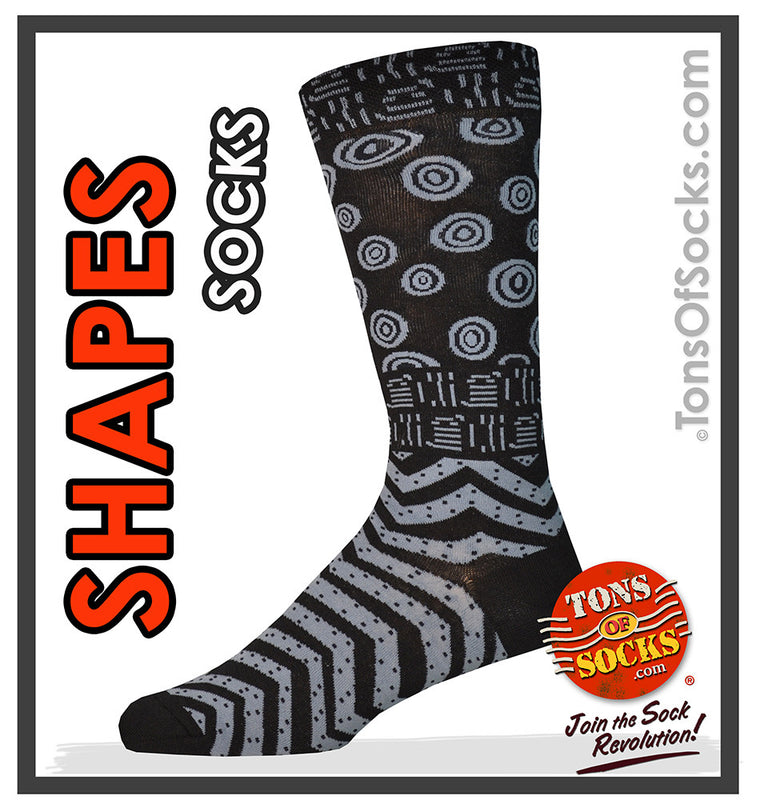 "Men's Laurel Burch ""Shapes"" Socks"
