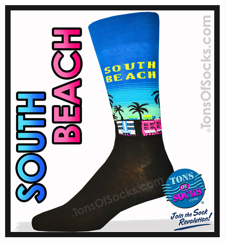 Men's South Beach Socks