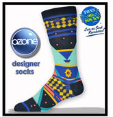 Men's Ozone Triangle Socks (Navy)