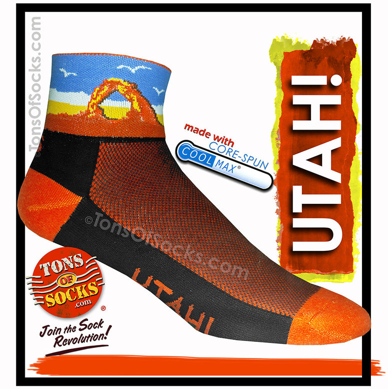 CoolMax® Utah! Performance Socks