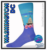 Men's Washington DC Socks
