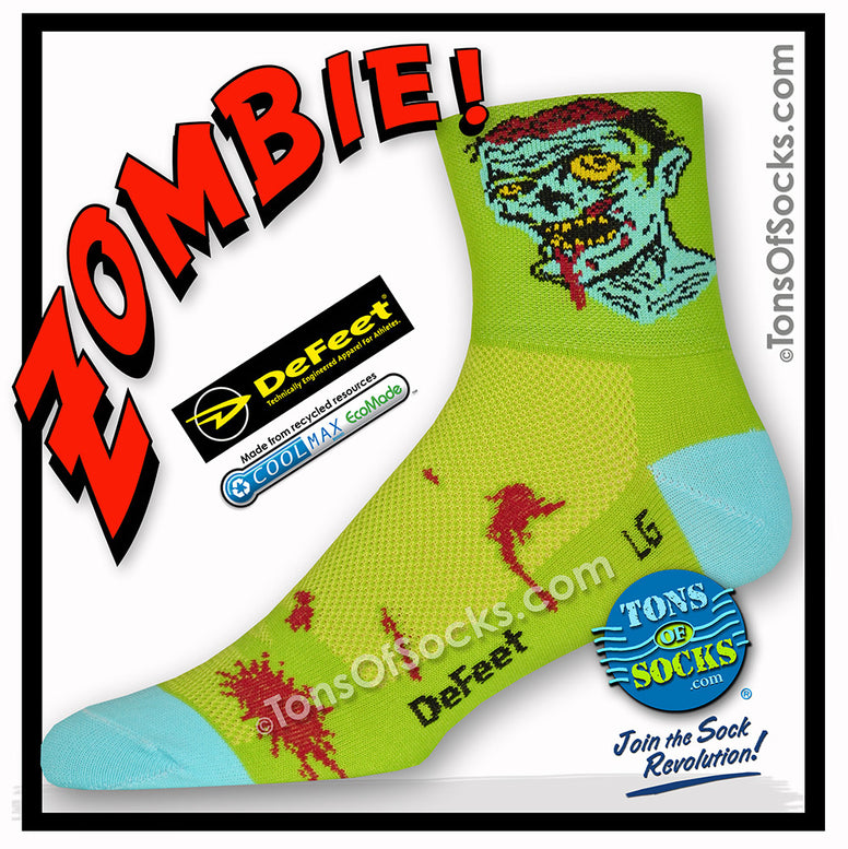 DeFeet Zombie Performance Bike Socks