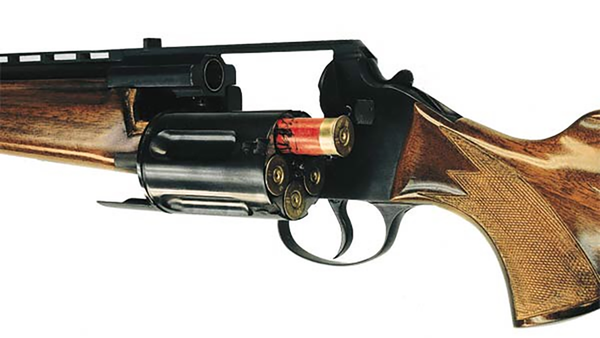12 gauge revolver. How cool is this?