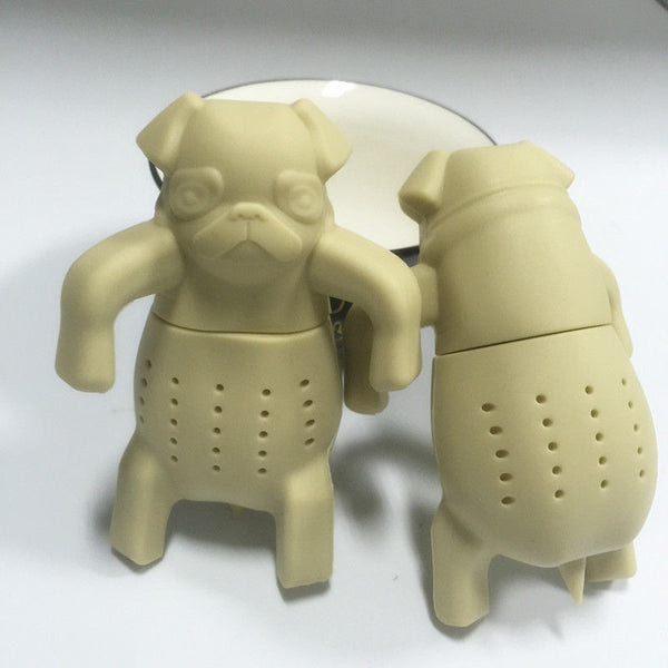 Silicon Pug Tea Infuser - Grab, Shop & Go