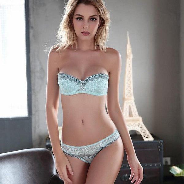 Luxury Lace Bra And Panty Set - Grab, Shop & Go