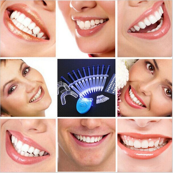 Teeth Whitening Oral Gel Kit - Grab, Shop & Go