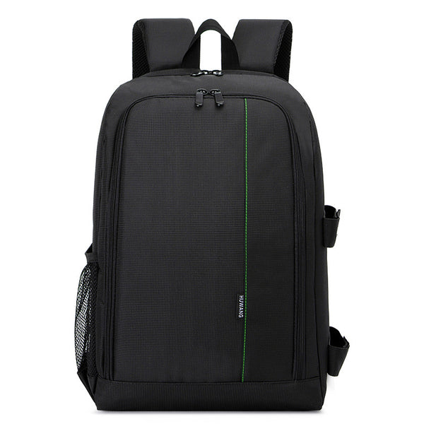 DSLR Photo Padded Backpack w/ Rain Cover - Grab, Shop & Go