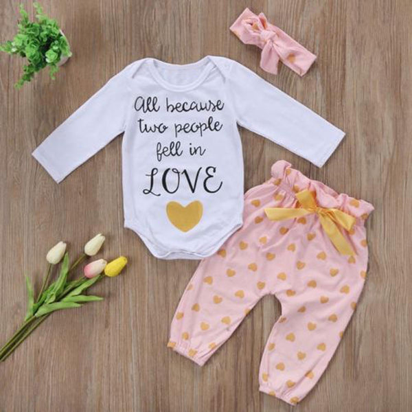 All Because Two People Fell In Love Clothing Set - Grab, Shop & Go