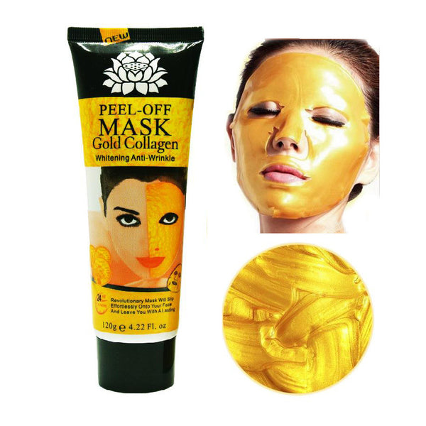 24K Gold Collagen Peel Off Mask - Grab, Shop & Go