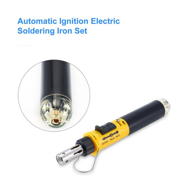 12 In 1 Automatic Ignition Electric Soldering Iron Set - Grab, Shop & Go