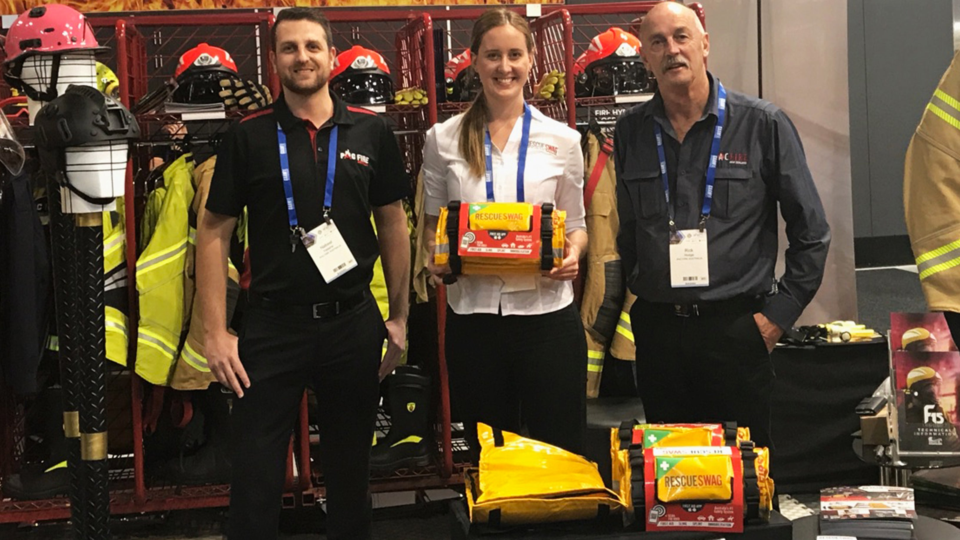 RESCUE SWAG AT AFAC 2017 CONFERENCE