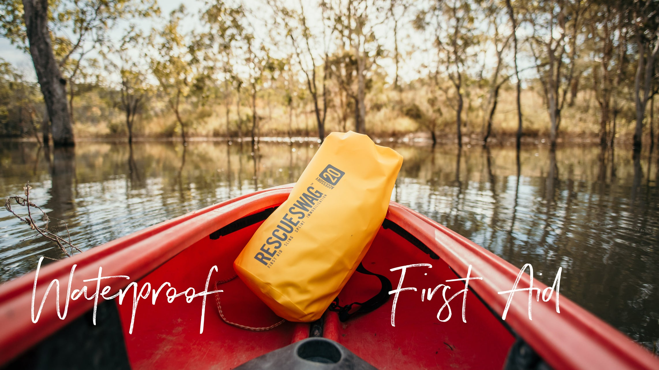 WATERPROOF & DUSTPROOF YOUR OUTDOOR FIRST AID KIT
