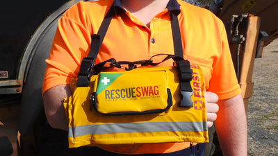 HOW TO USE RESCUE SWAG AS A SLING