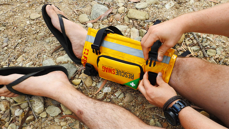 HOW TO USE RESCUE SWAG AS A SPLINT & IMMOBILISATION DEVICE
