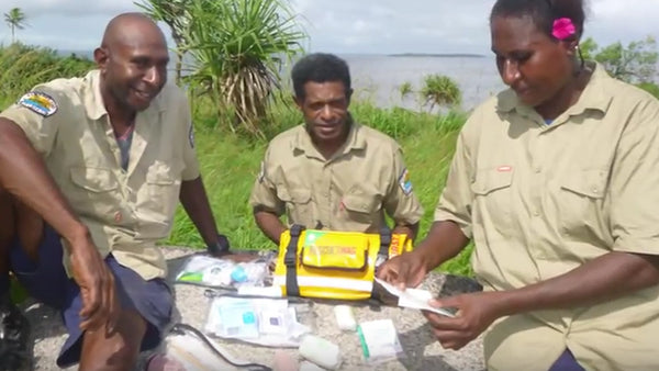 RESCUE SWAG BUILDING RESILIENCE IN PNG TREATY VILLAGES