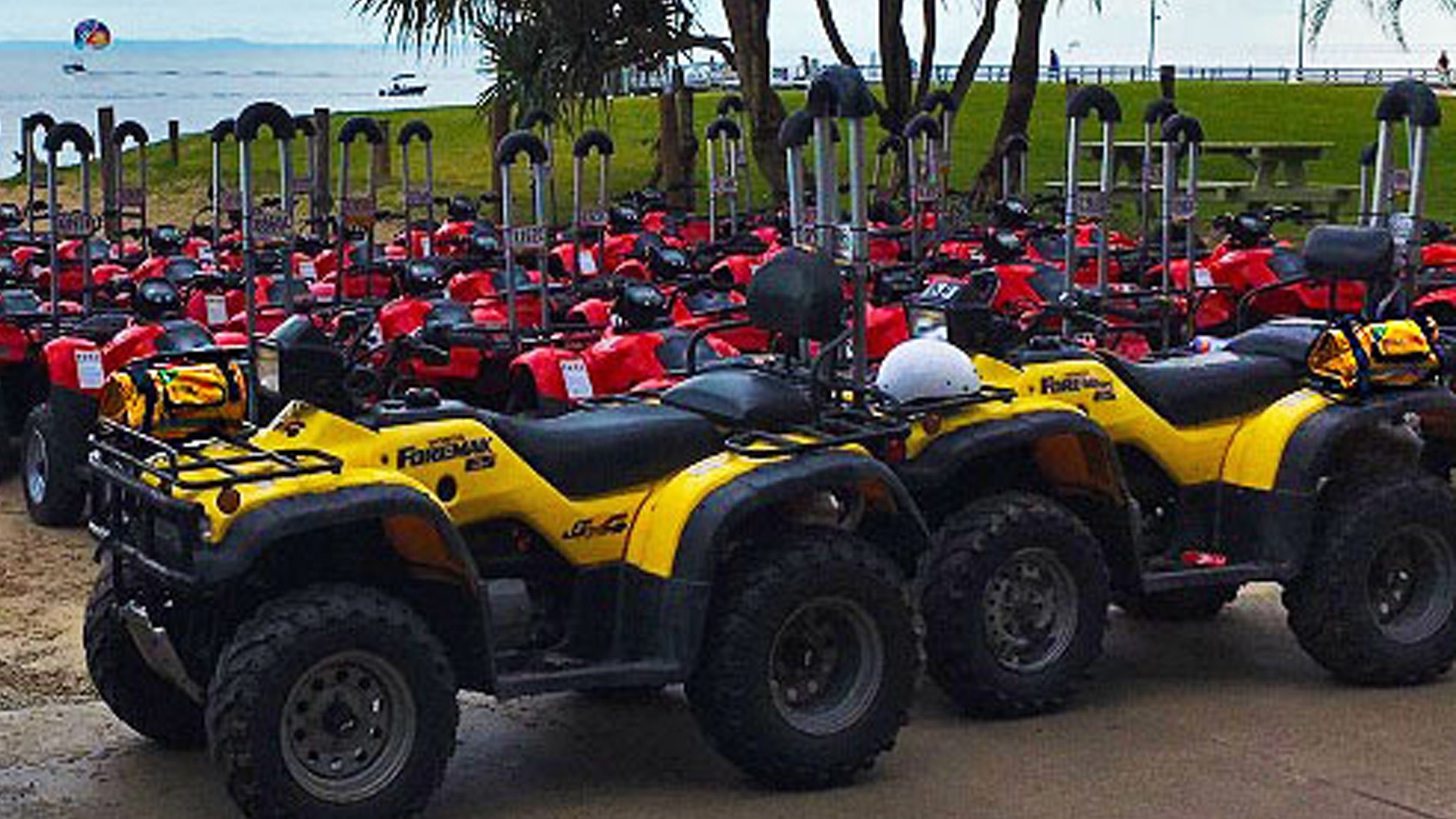 RESCUE SWAG EQUIPS TANGALOOMA ISLAND RESORT TOUR GUIDES