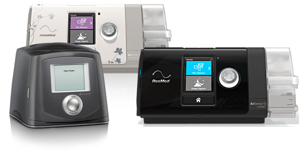 3 Cpap Devices compared side by side