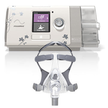 Bundle - ResMed AIRSENSE™10 AUTOSET™ FOR HER - F&P SIMPLUS™ (CALL for Price)