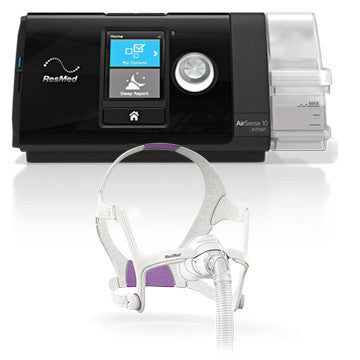 Bundle - ResMed AIRSENSE™10 AUTOSET™ FOR HIM - RESMED AIRFIT N20 For Her (CALL for Price)