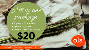 Trial Pack - All MYOLA products for only $20