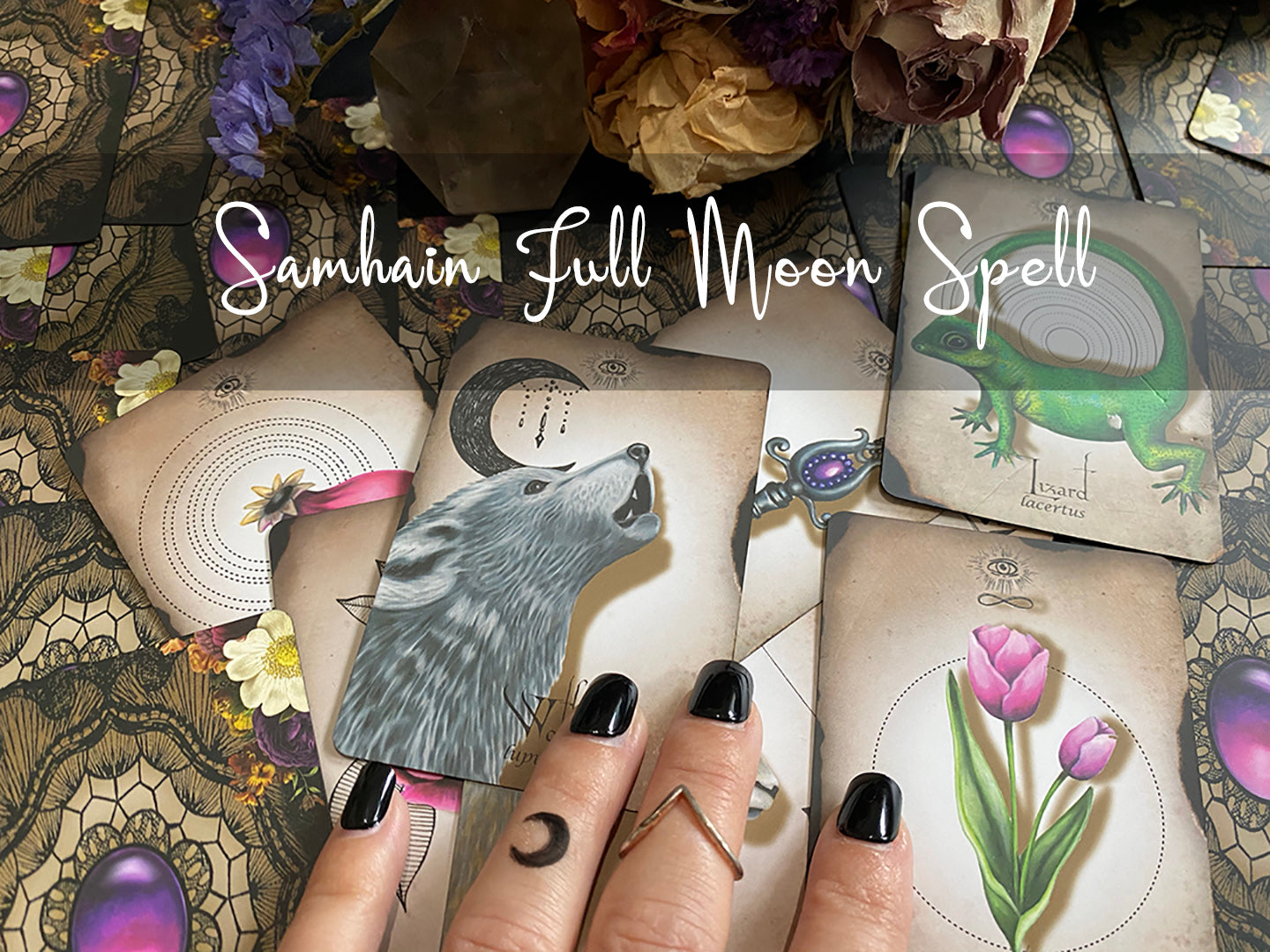 Samhain Full Moon 'Creating Connection' Spell