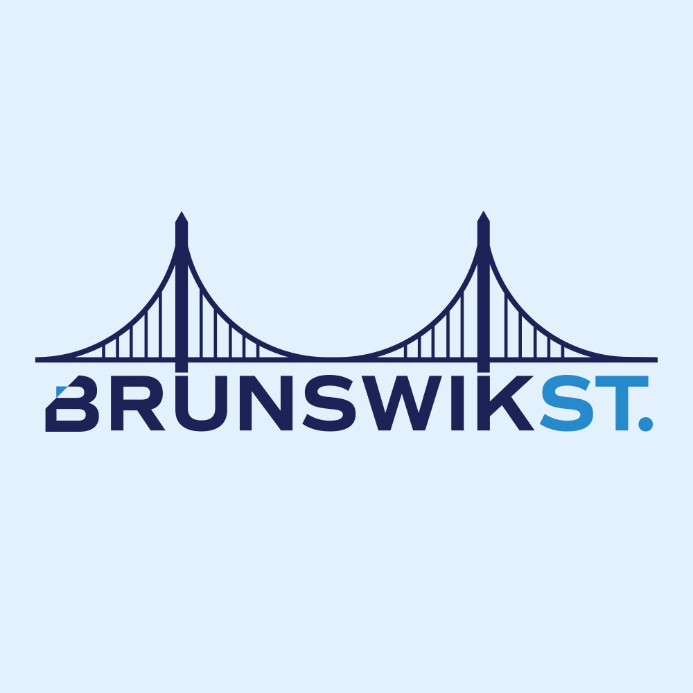 BrunswikSt. Staffing Firm Logo by Gibran Hamdan, Seattle Logo design expert.