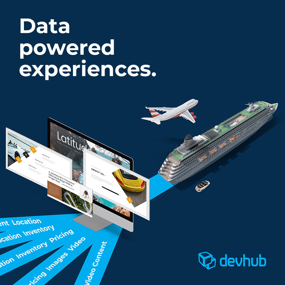 Custom Video design and Graphic design for devHub by Gibran the creative agency