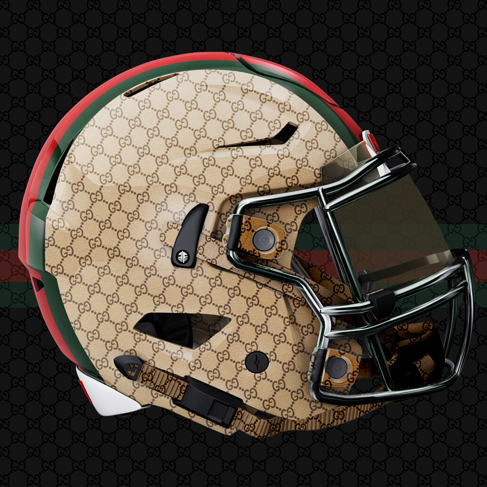 Gucci Football Uniform Design by Gibran Hamdan, Seattle Logo design expert.