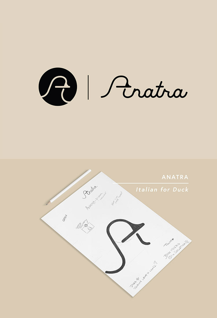 Anatra Consulting Logo design by Gibran Hamdan. Gibran is a Seattle based logo and brand identity expert