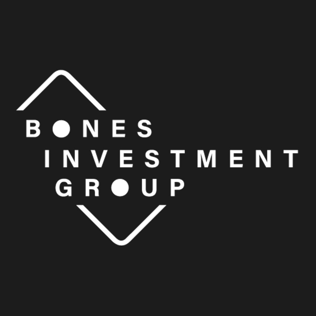 Bones Investment Group Logo and Brand Identity by Gibran Hamdan