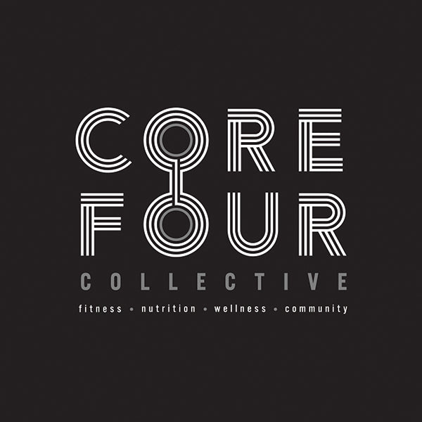 Core 4 Collective branding main mark by Gibran Hamdan, Branding and design agency seattle