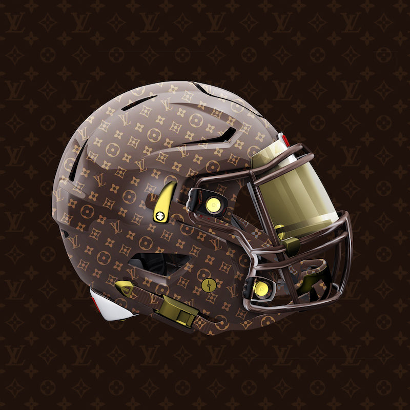Louis Vuitton Football Uniform Design by Gibran Hamdan, Seattle Logo design expert.