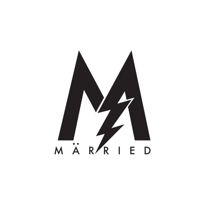 Married Logo by Gibran Hamdan, Seattle Artist, Designer, and Branding Expert