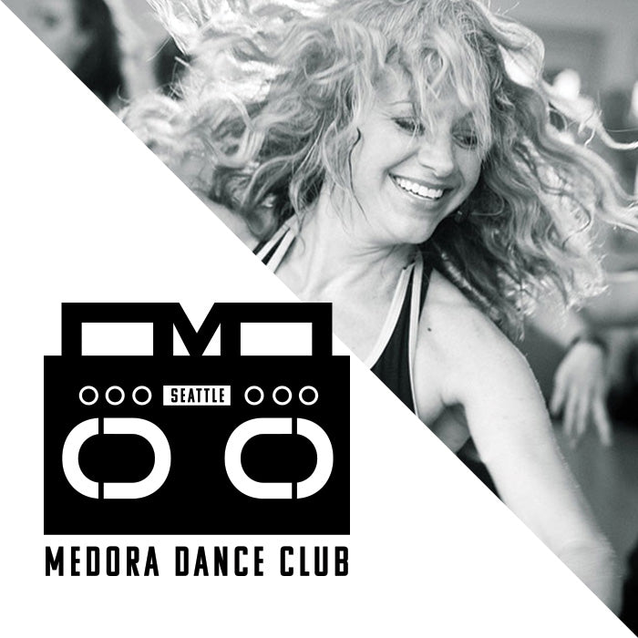 Medora Dance Club Logo by Gibran Hamdan, Seattle Artist, Designer, and Branding Expert