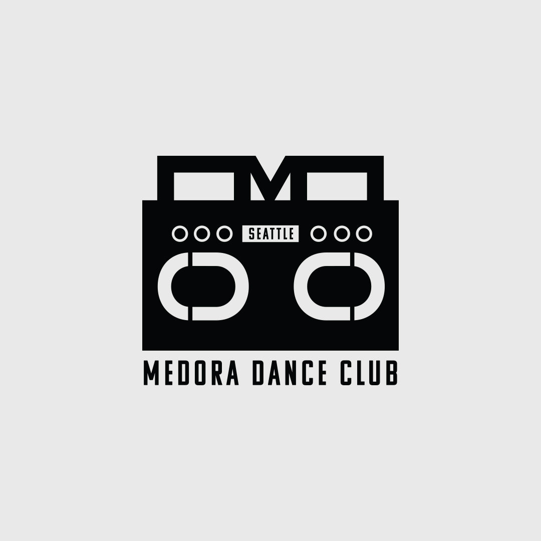 Medora Dance Club logo and brand idenity designed by Gibran Hamdan