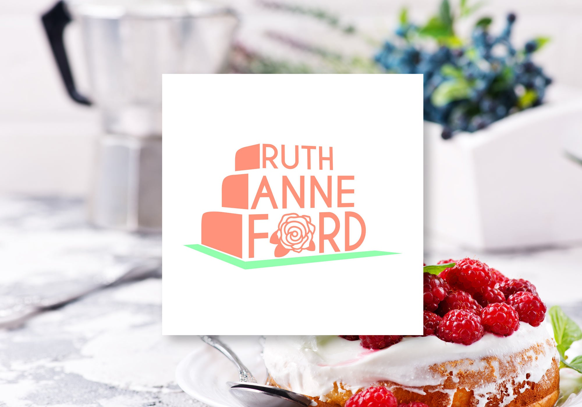 Ruth Anne Ford Logo by Gibran Hamdan, Seattle Artist, Designer, and Branding Expert
