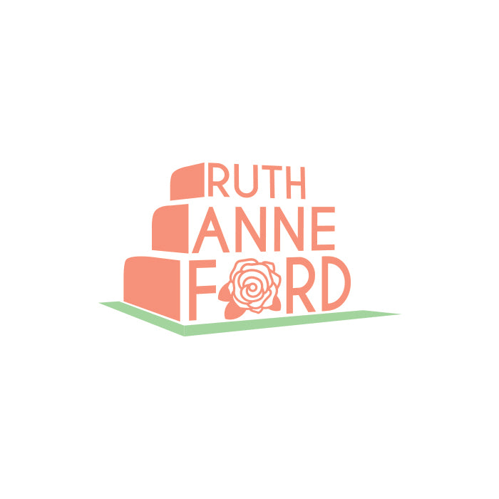 Gibran Hamdan logo design and web design for Ruth Anne Ford