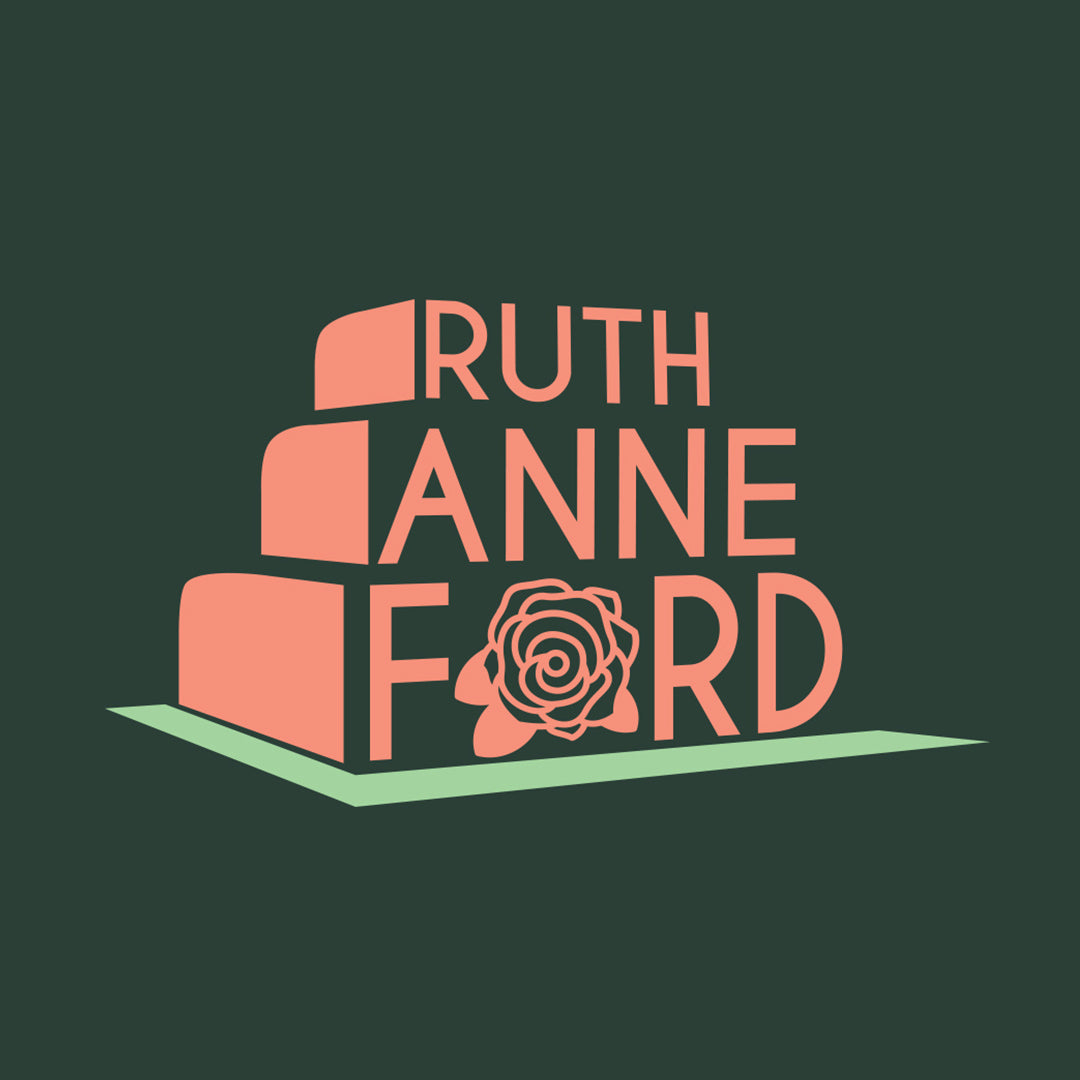 Ruth Anne Ford Logo by Gibran Hamdan, Seattle based Creative designer and Logo designer
