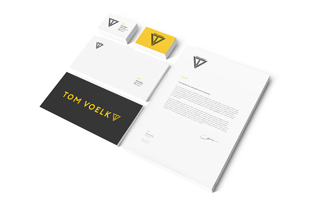 Gibran Hamdan Seattle branding expert, custom designs for Tom Voelk