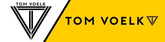 Tom Voelk Logo by Gibran Hamdan, Seattle Artist, Designer, and Branding Expert
