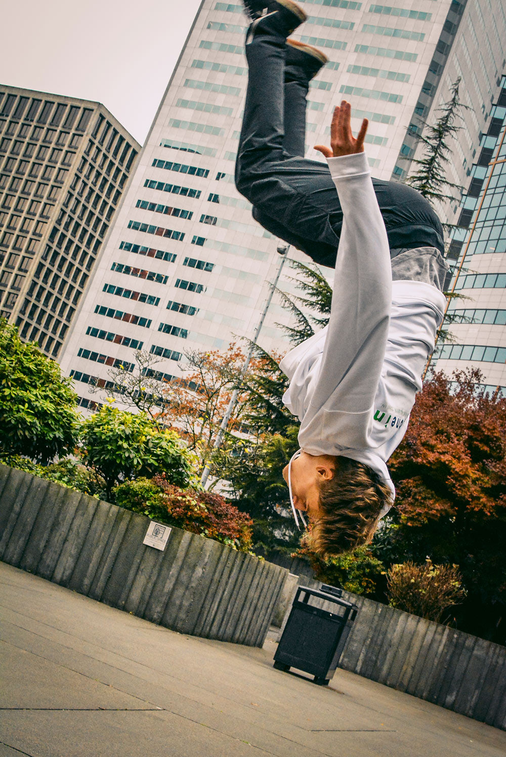 Parkour Athlete, by Gibran Hamdan Seattle photographer