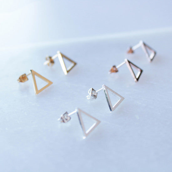 Annet Weelink Designs - Earrings - Triangle