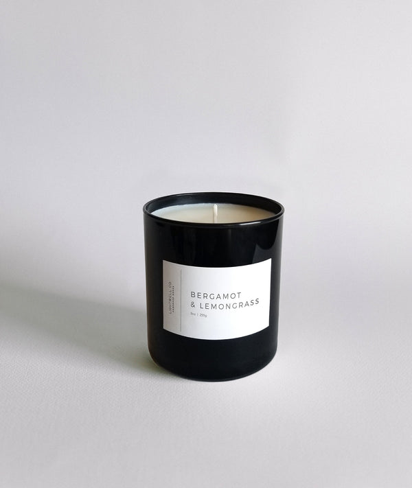 Lightwell Co - Bergamot & Lemongrass Black Tumbler