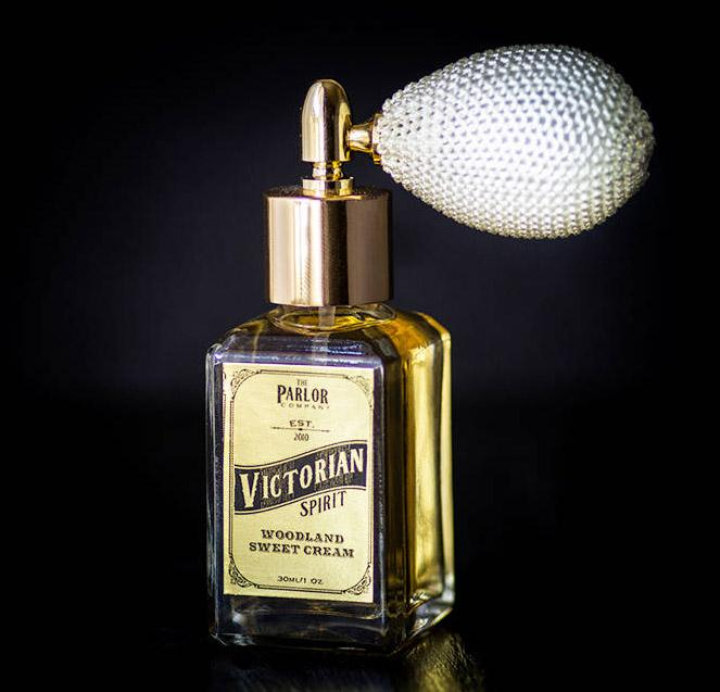 The Parlor Co - Victorian Spirit Perfume - Woodland Sweet Cream
